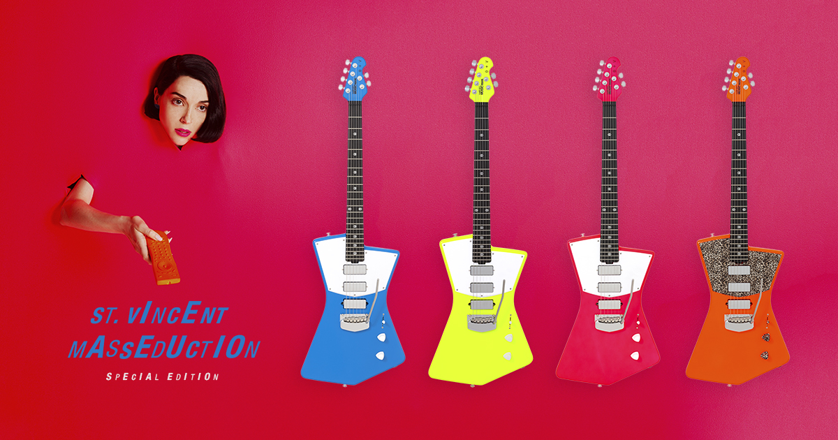 Masseduction Limited Collection Ernie Ball Music Man