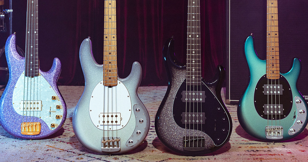 stingray special collection ernie ball music man. Black Bedroom Furniture Sets. Home Design Ideas