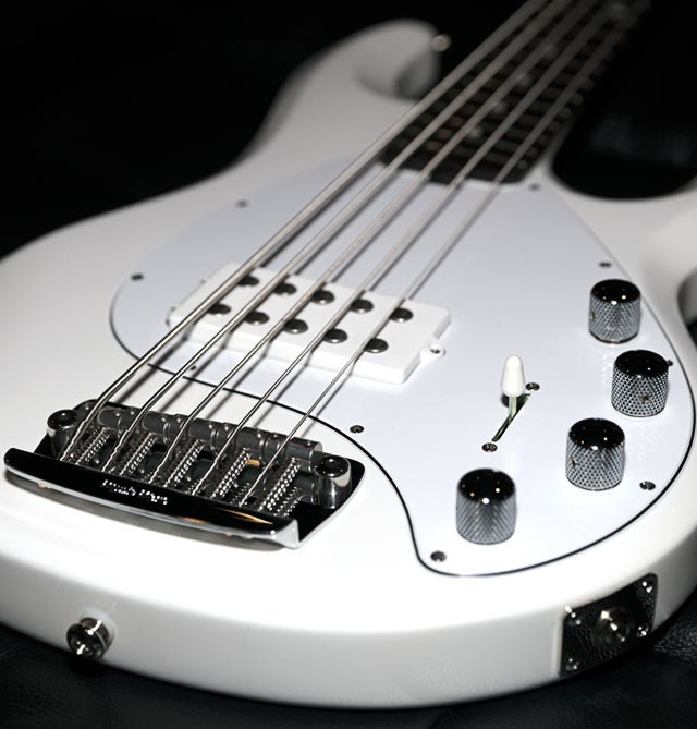 StingRay5 Neck Through Hero Image