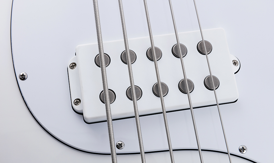 StingRay5 Neck Through Highlight