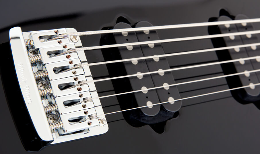 Silhouette Bass Guitar Highlight