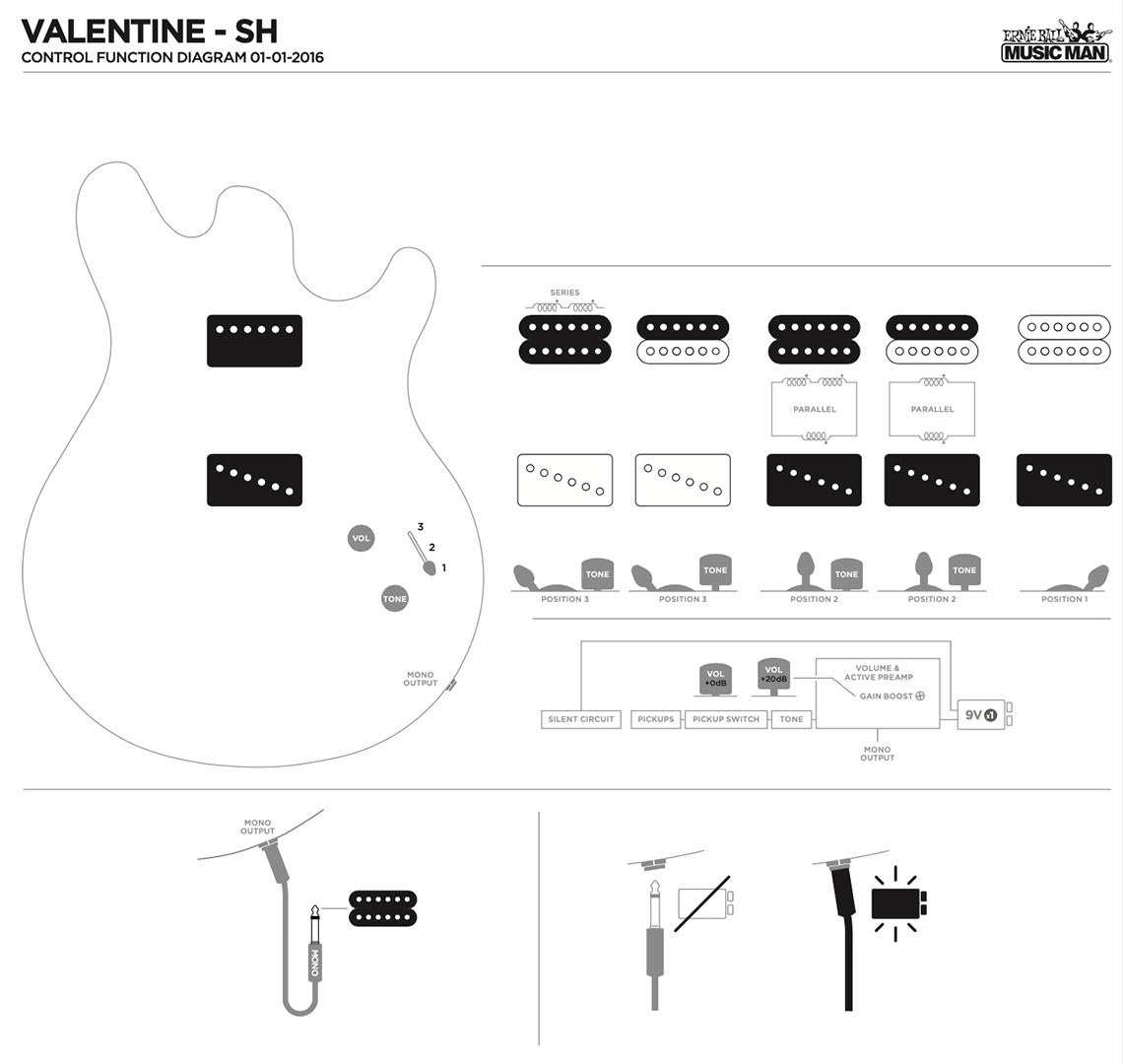 Valentine Guitars Ernie Ball Music Man Fender American Special Stratocaster Wiring Diagram Pickup Configuration 1