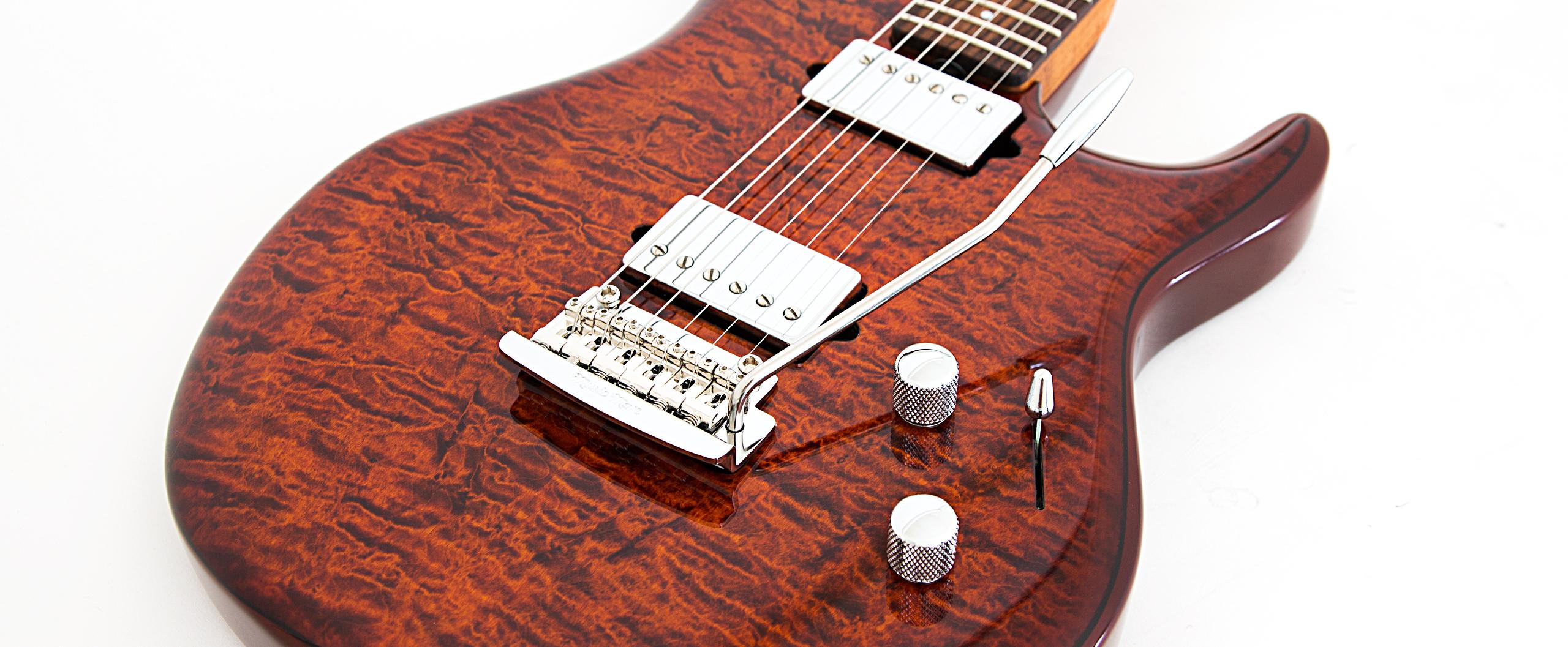 Luke Iii Bfr Guitars Ernie Ball Music Man Guitar Wiring Diagram 2 Volume 1 Tone Slide