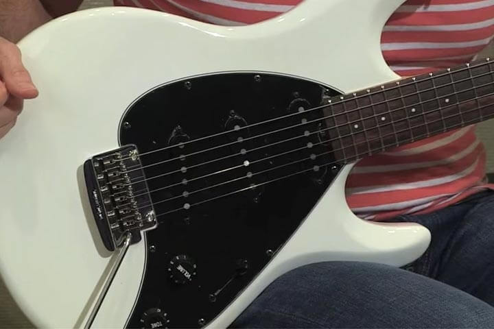 silhouette special guitars ernie ball music manhear the silhouette special in action