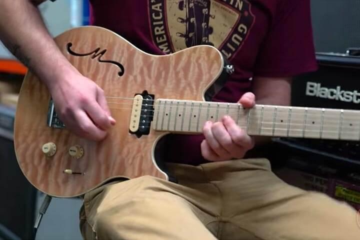 Axis Super Sport Semi Hollowbody Guitars Ernie Ball Music Man