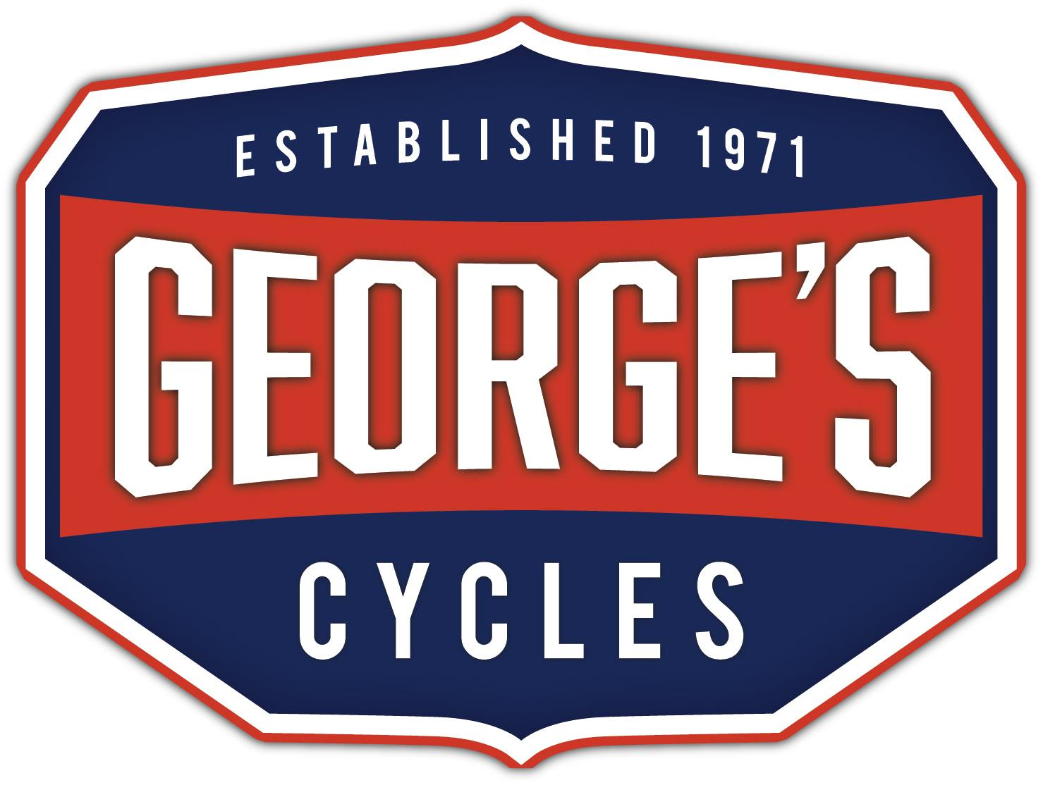 George's Cycles Logo