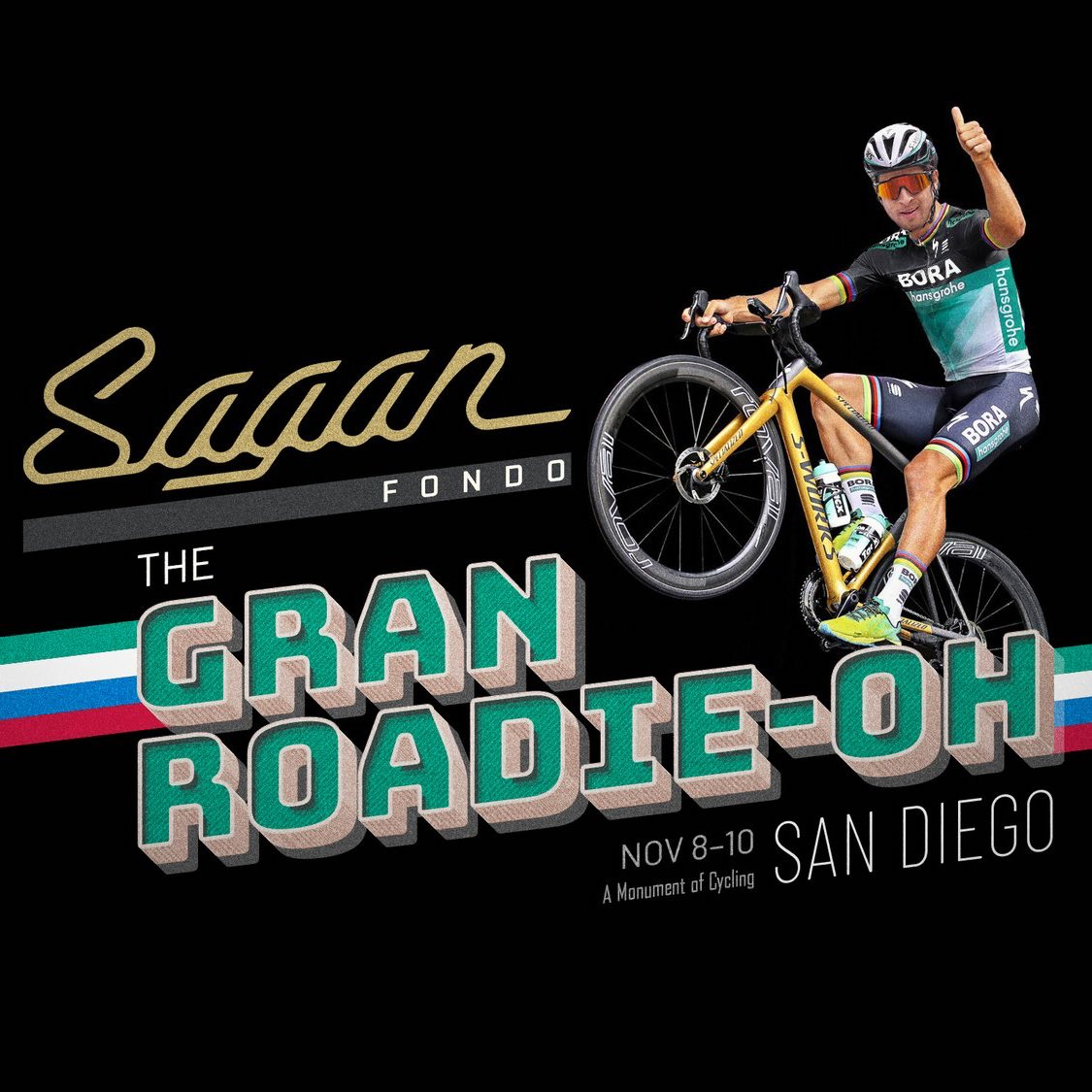 Sagan Fondo Green Jersey Go-Around