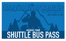 Clackamas River Shuttle Pass image