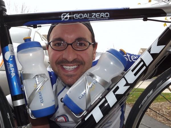I ride to eradicate cancer