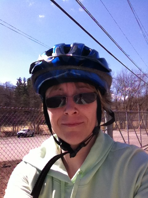 Bicycling eased my depression
