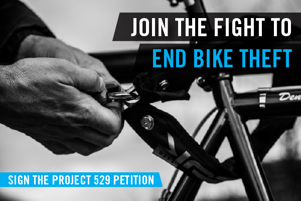Join the fight to end bike theft