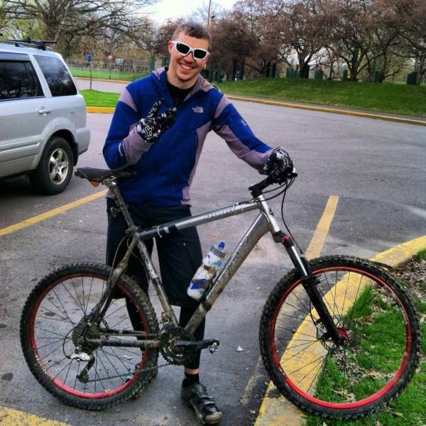 That bike was my saving grace