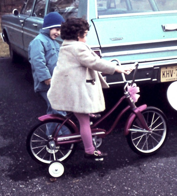 In the 70's, the Stockings Had to Match the Bike