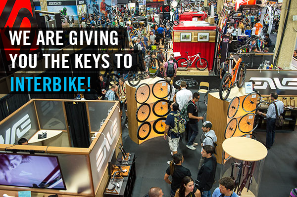 We are giving you the keys to Interbike!