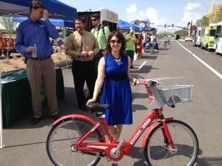 TDOT pedestrian and bike coordinator Jessica Wilson.