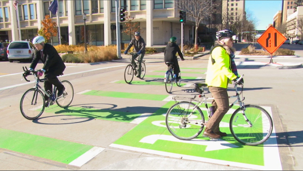 America S 10 Best New Bike Lanes Of 2015 Peopleforbikes