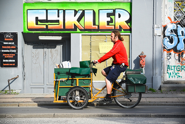 Danish cyclist