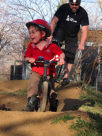 family pumptrack