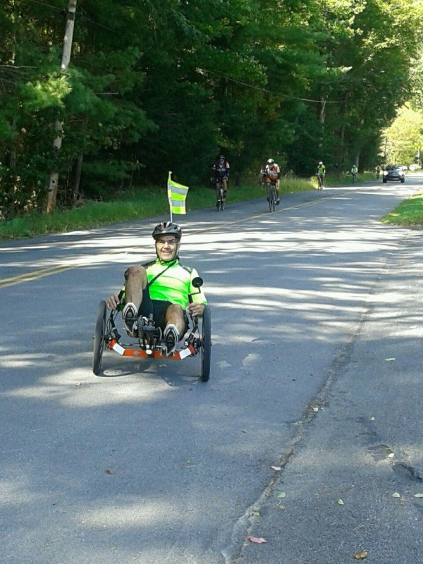 Why I Ride: Because I Can't Run!