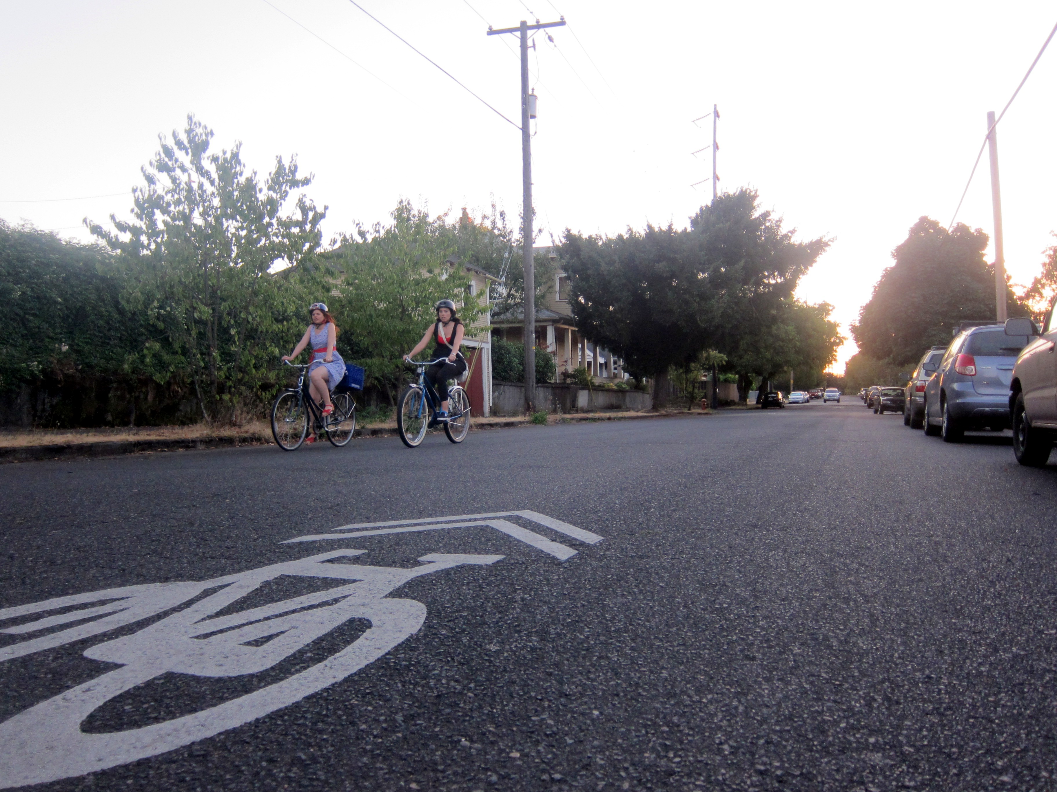 Northeast Portland's Going Street Greenway is arguably the city's best.