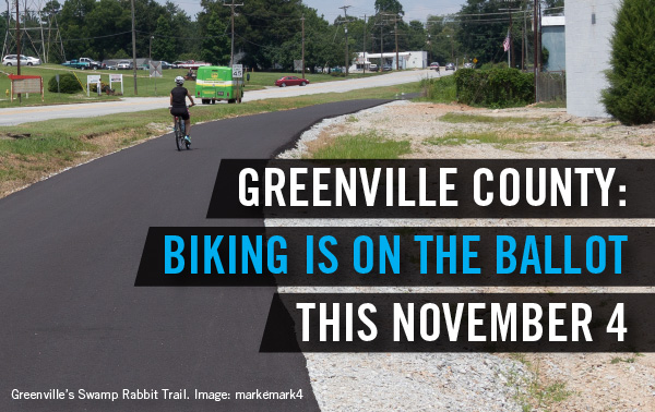 Biking is on the ballot this November