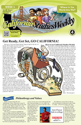 California Studies Weekly