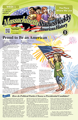 Massachusetts Studies Weekly - American History