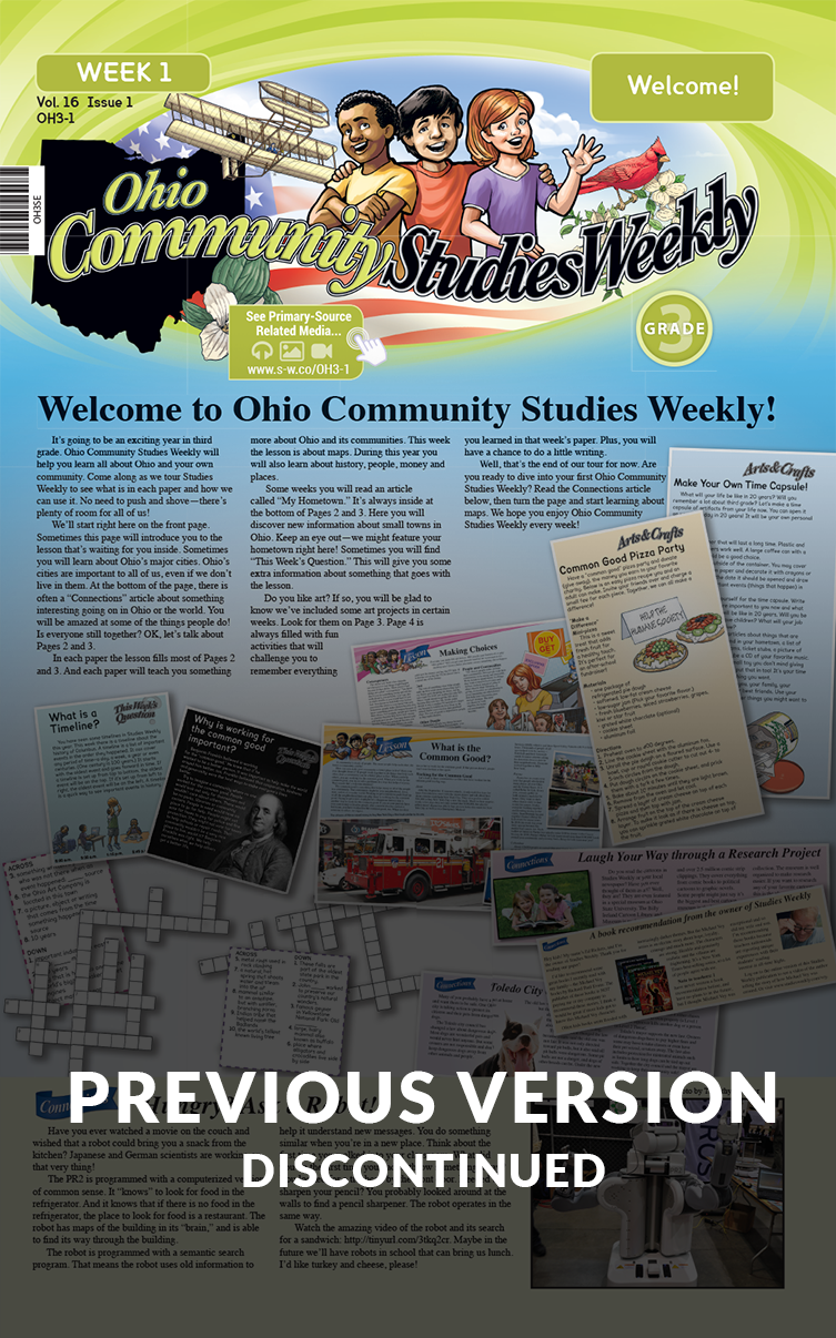 Ohio Community Studies Weekly