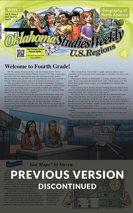 Oklahoma Studies Weekly - U.S Regions
