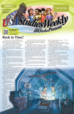 USA Studies Weekly - 1865 to Present
