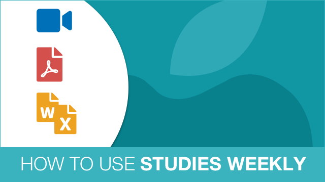 How to use Studies Weekly