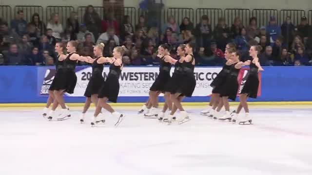 Synergy Blue Valley >> 2017 Midwestern Synchronized Skating Sectional Championships – USFS Videos