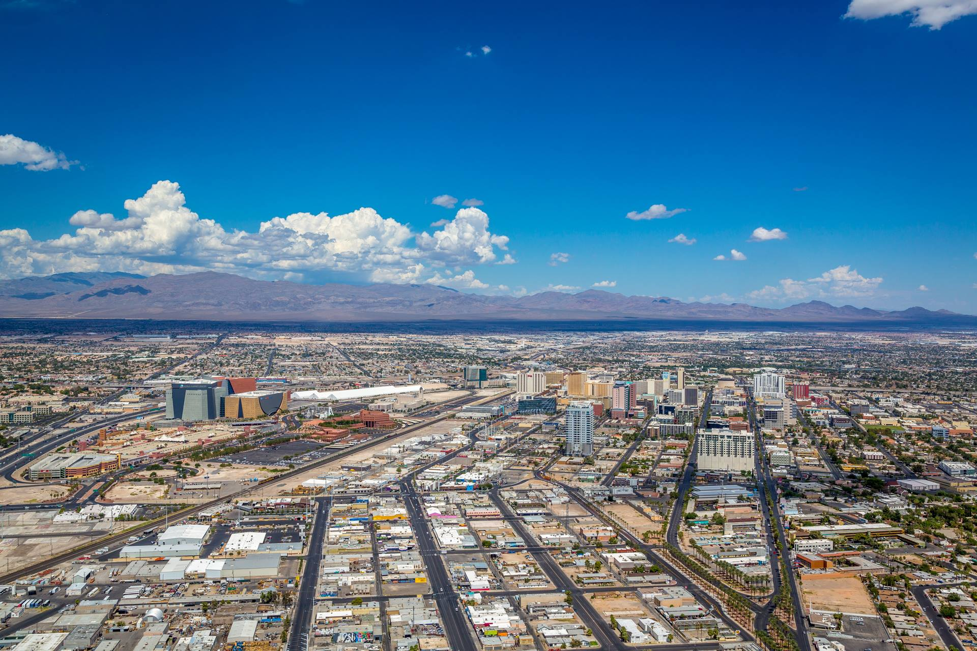 Vegas from the Stratosphere III -  by D Scott Smith