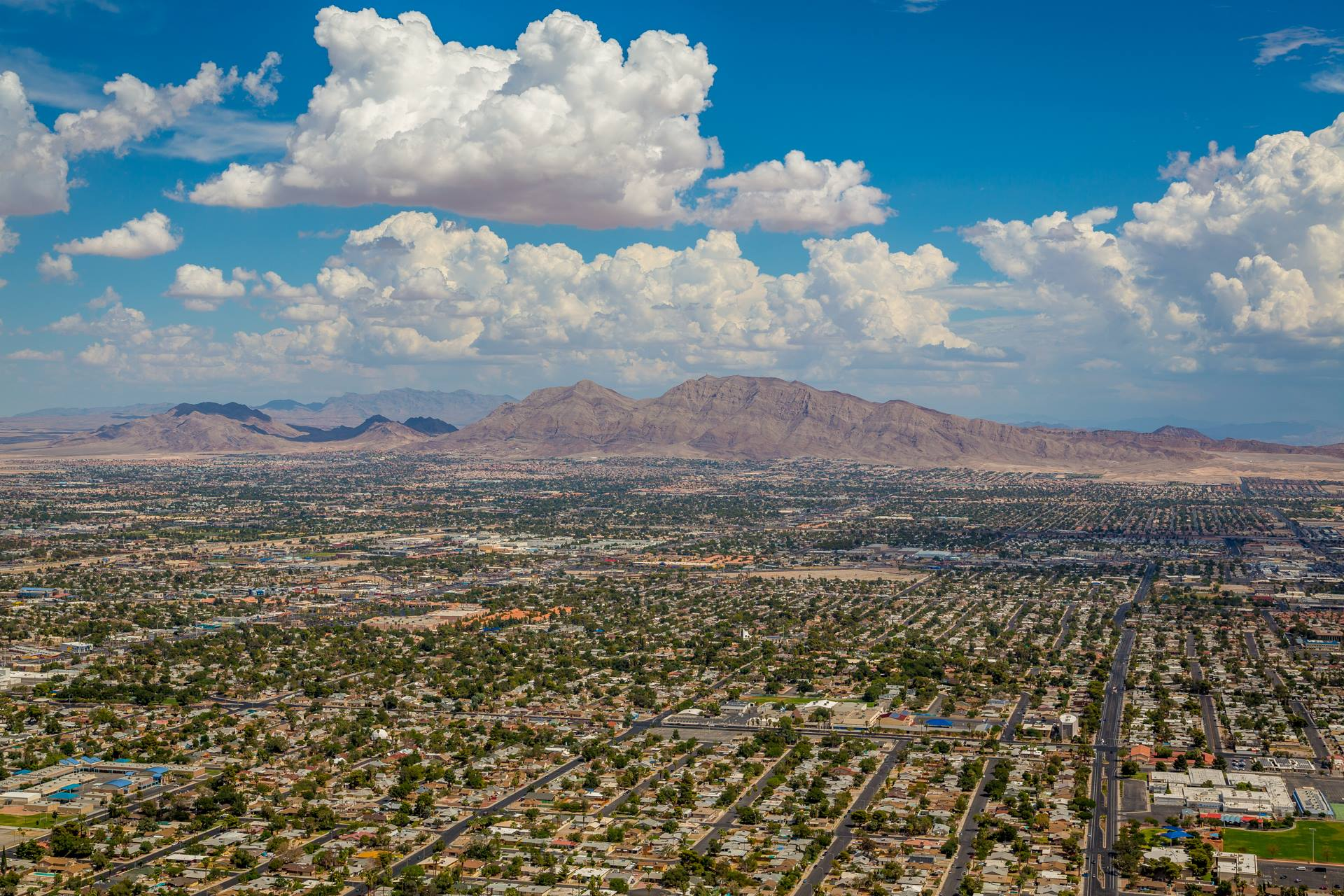Vegas from the Stratosphere -  by D Scott Smith