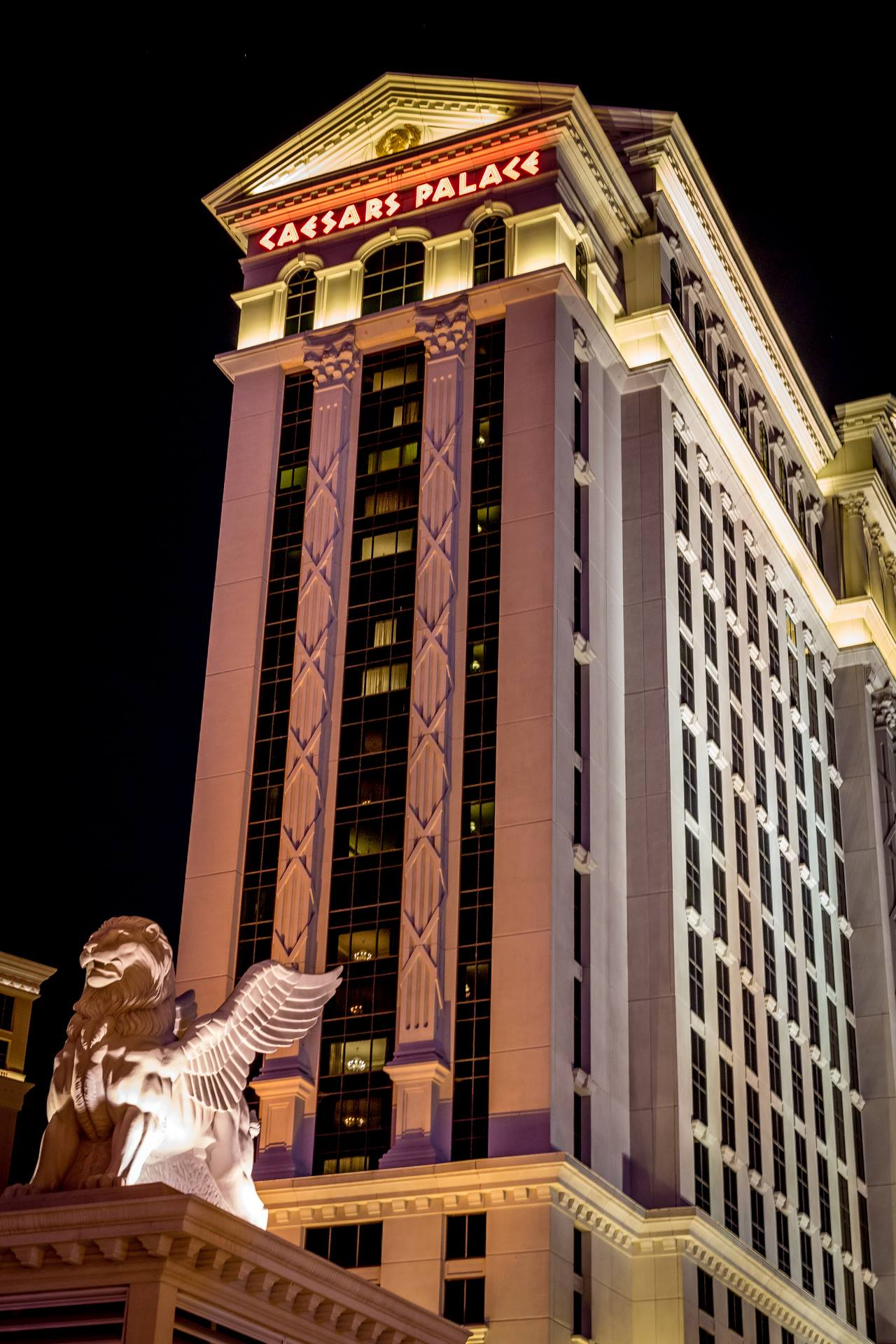 Ceasar's Palace - Ceasar's Palace in Las Vegas, Nevada. by D Scott Smith