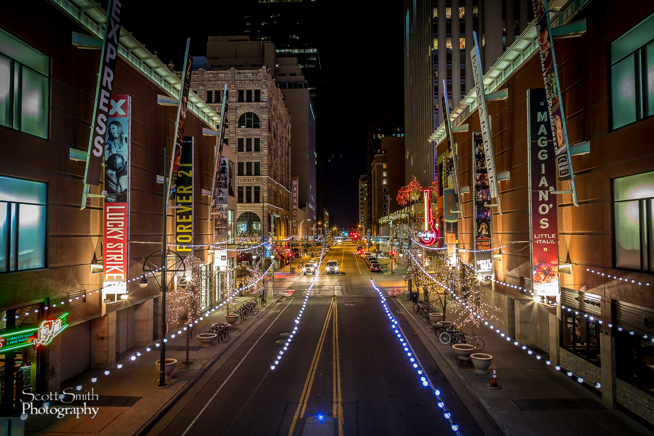 Downtown Denver Christmas 1 -  by D Scott Smith