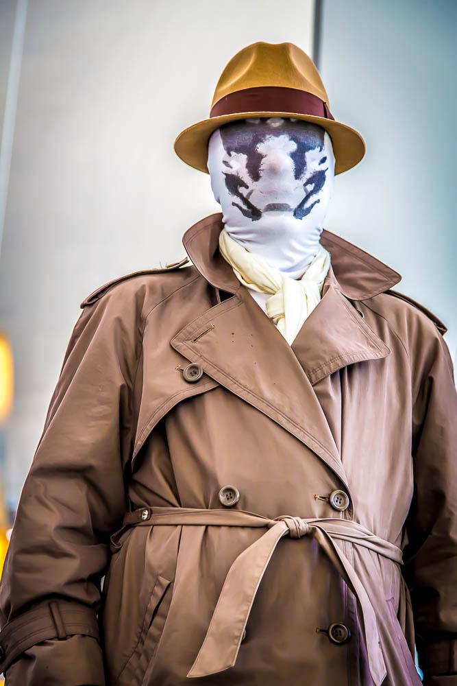 Rorschach - From Denver Comic Con 2014 by D Scott Smith