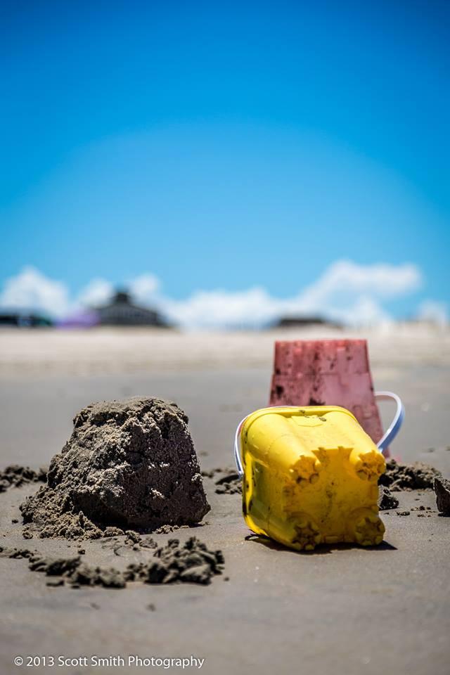 Beach Fun -  by D Scott Smith