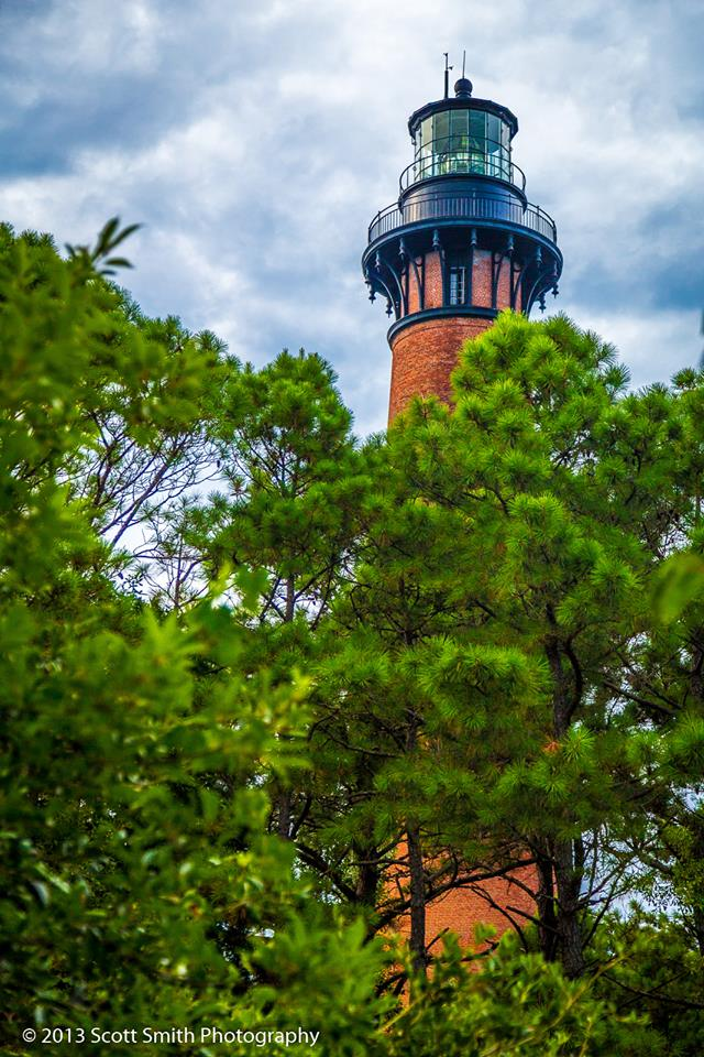 Currituck Lighthouse No 1 - Currituck, North Carolina. by D Scott Smith