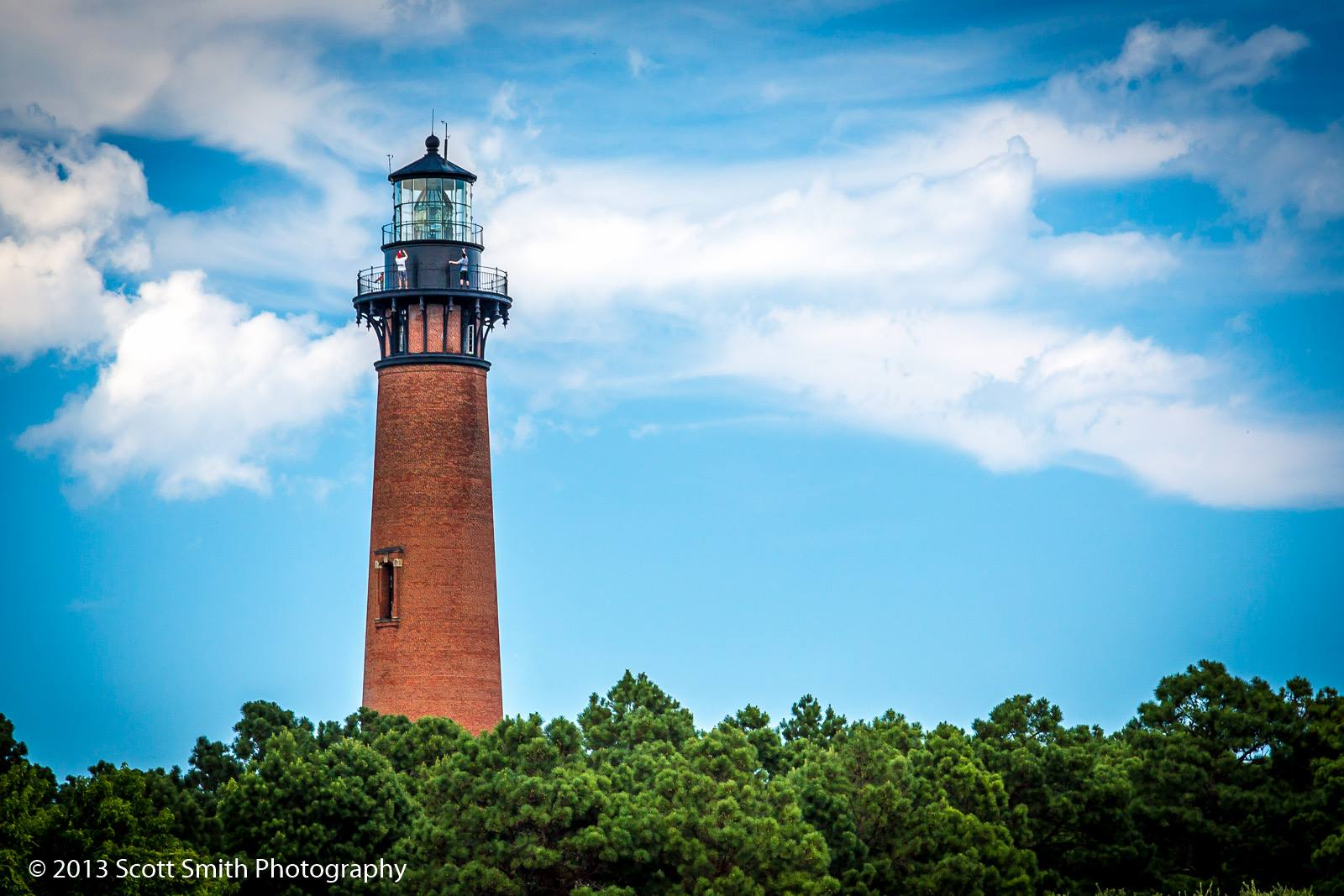 Currituck Lighthouse No 3 -  by D Scott Smith