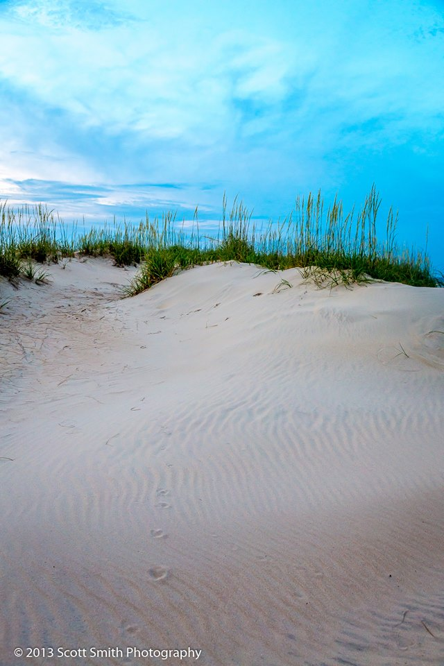 Sunset Dune -  by D Scott Smith
