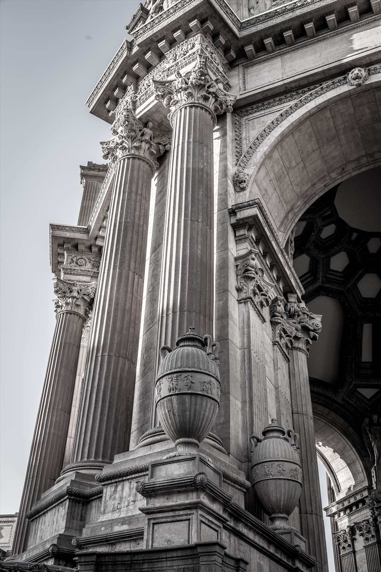 Palace of Fine Arts Detail -  by D Scott Smith