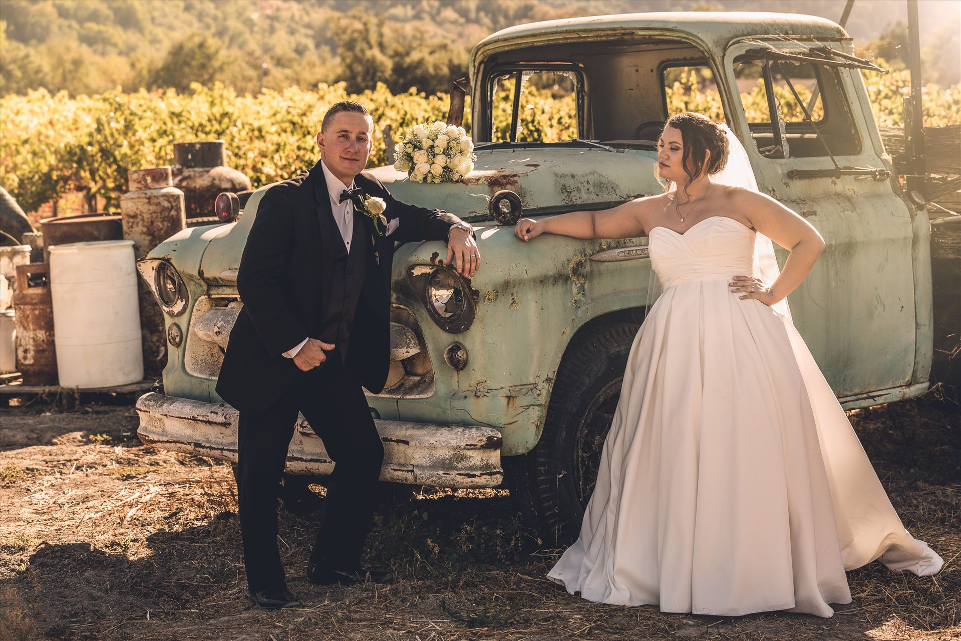 Tyler and Andrea - Tyler and Andrea had their ceremony at the Fortino Winery, in  Gilroy California, the Santa Clara Valley. by D Scott Smith