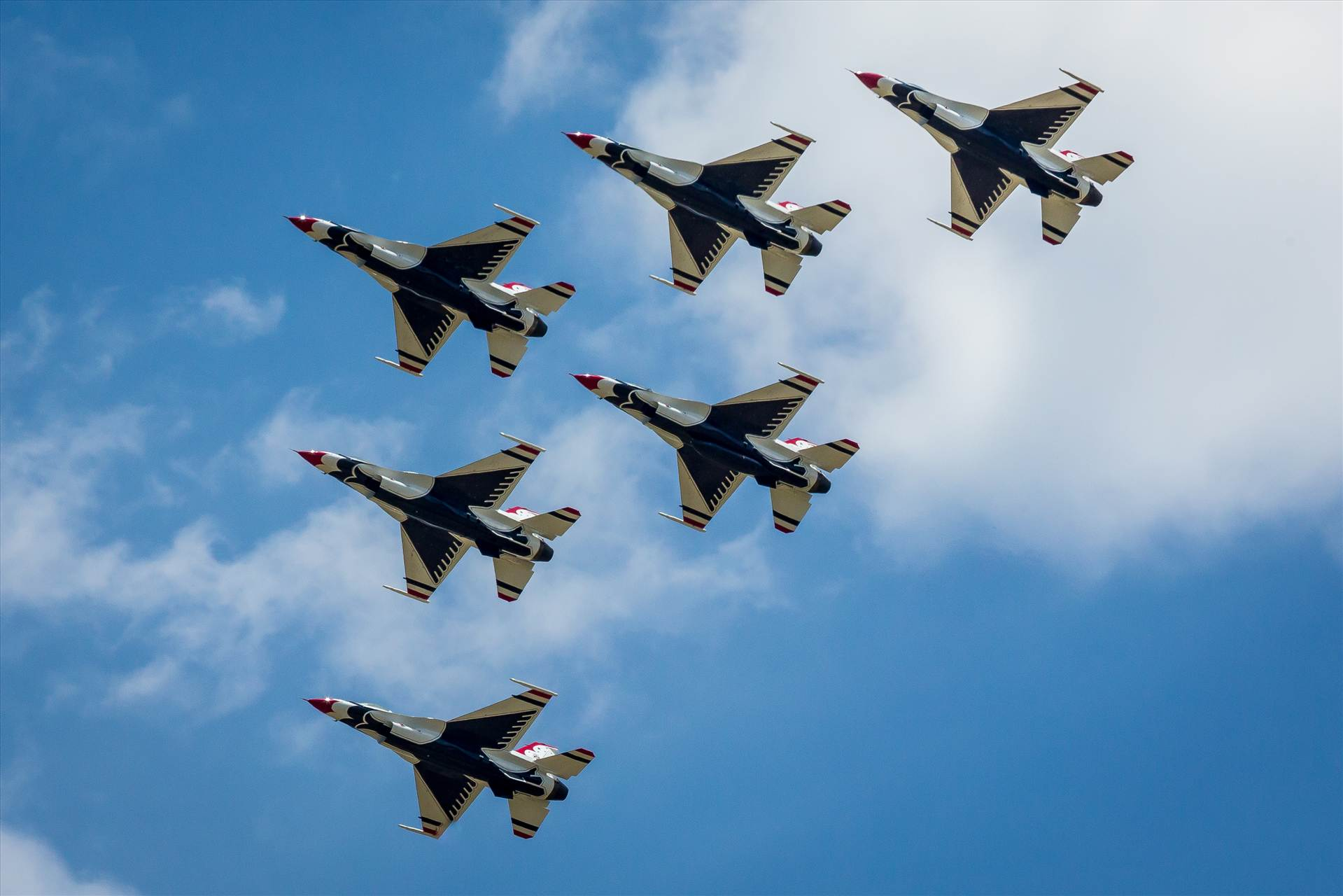 USAF Thunderbirds 26 -  by D Scott Smith