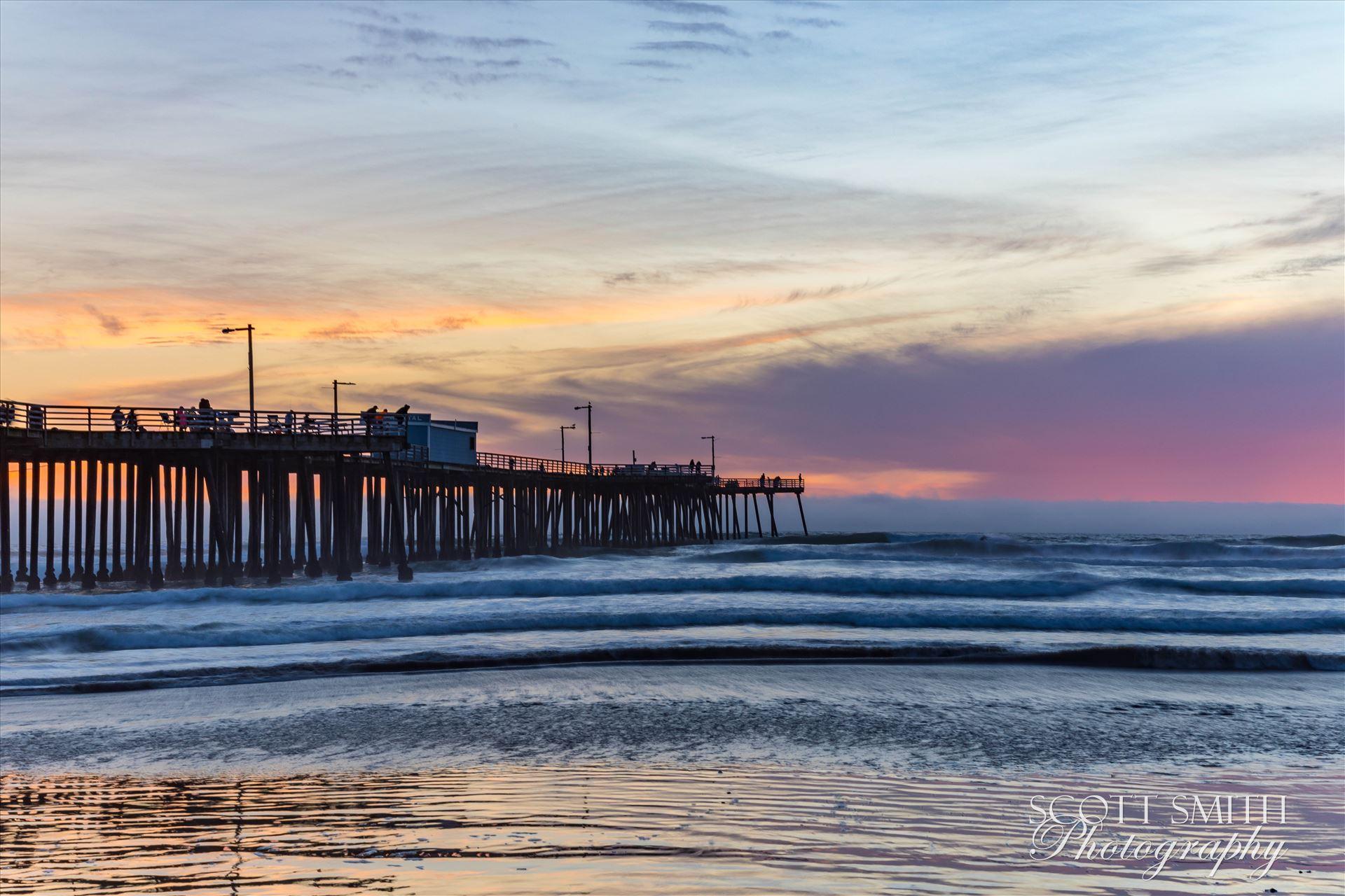 Pismo Beach Pier 2 -  by D Scott Smith