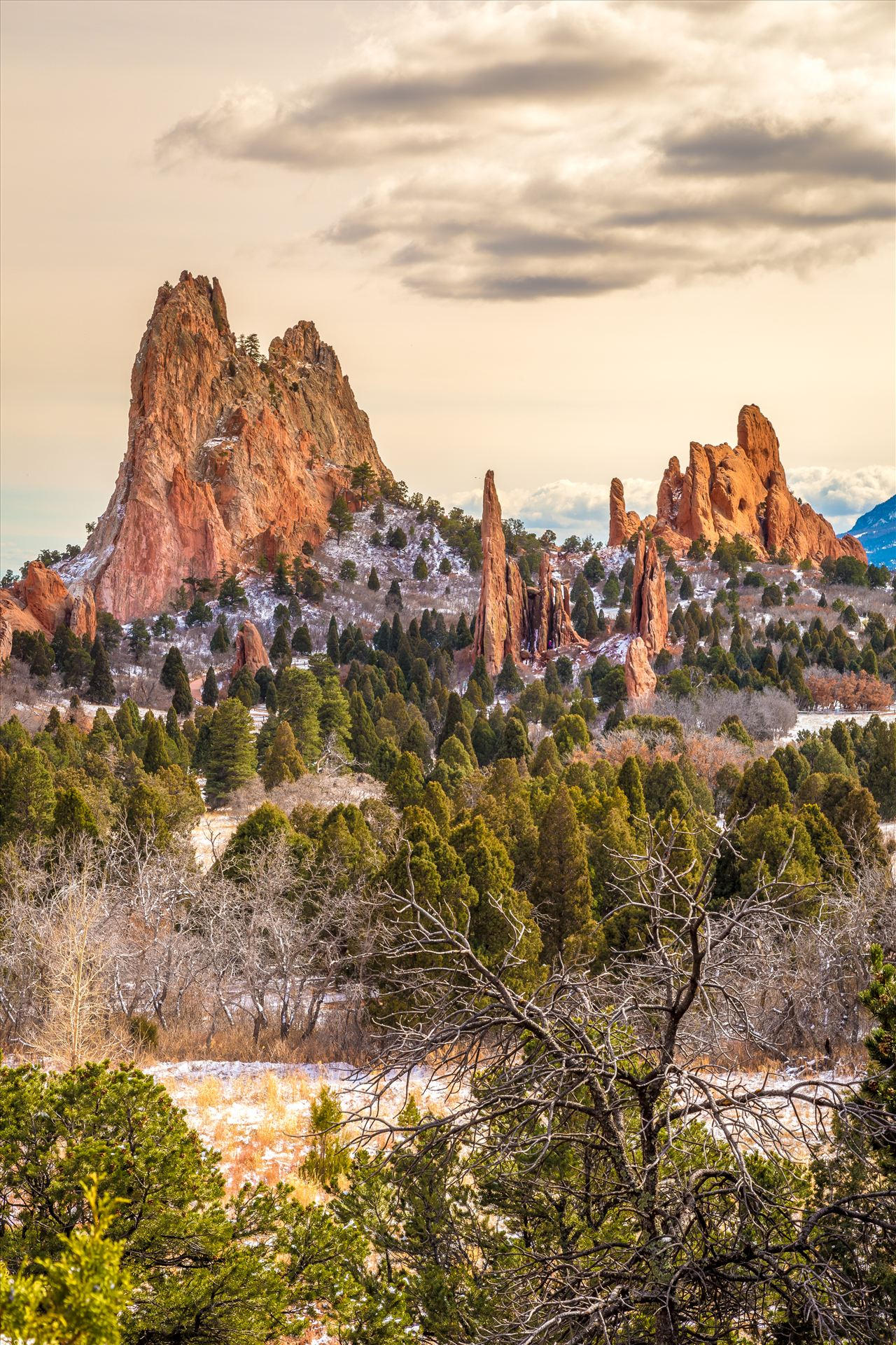Garden of the Gods Spires No 2 -  by D Scott Smith