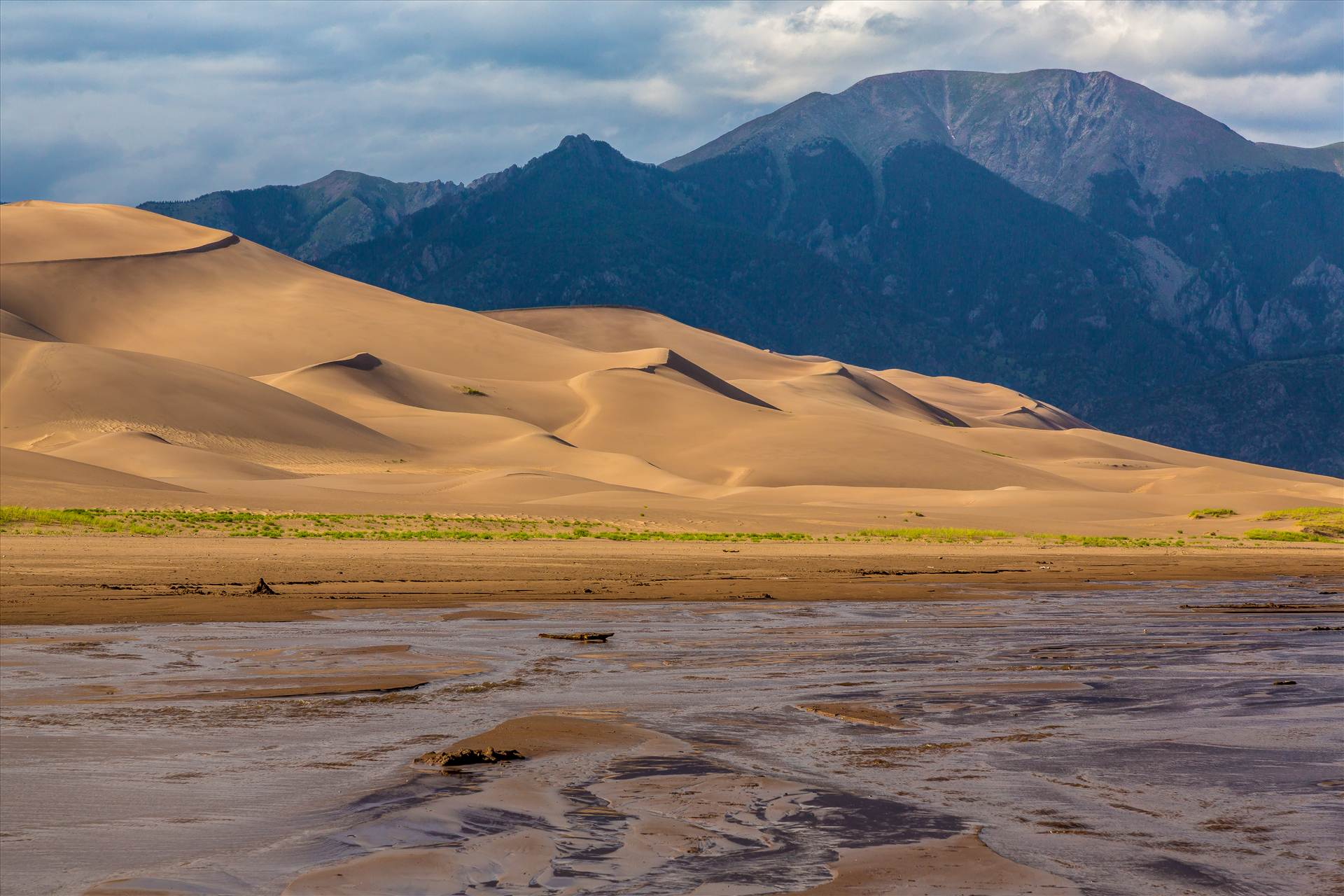 Great Sand Dunes 2 -  by D Scott Smith