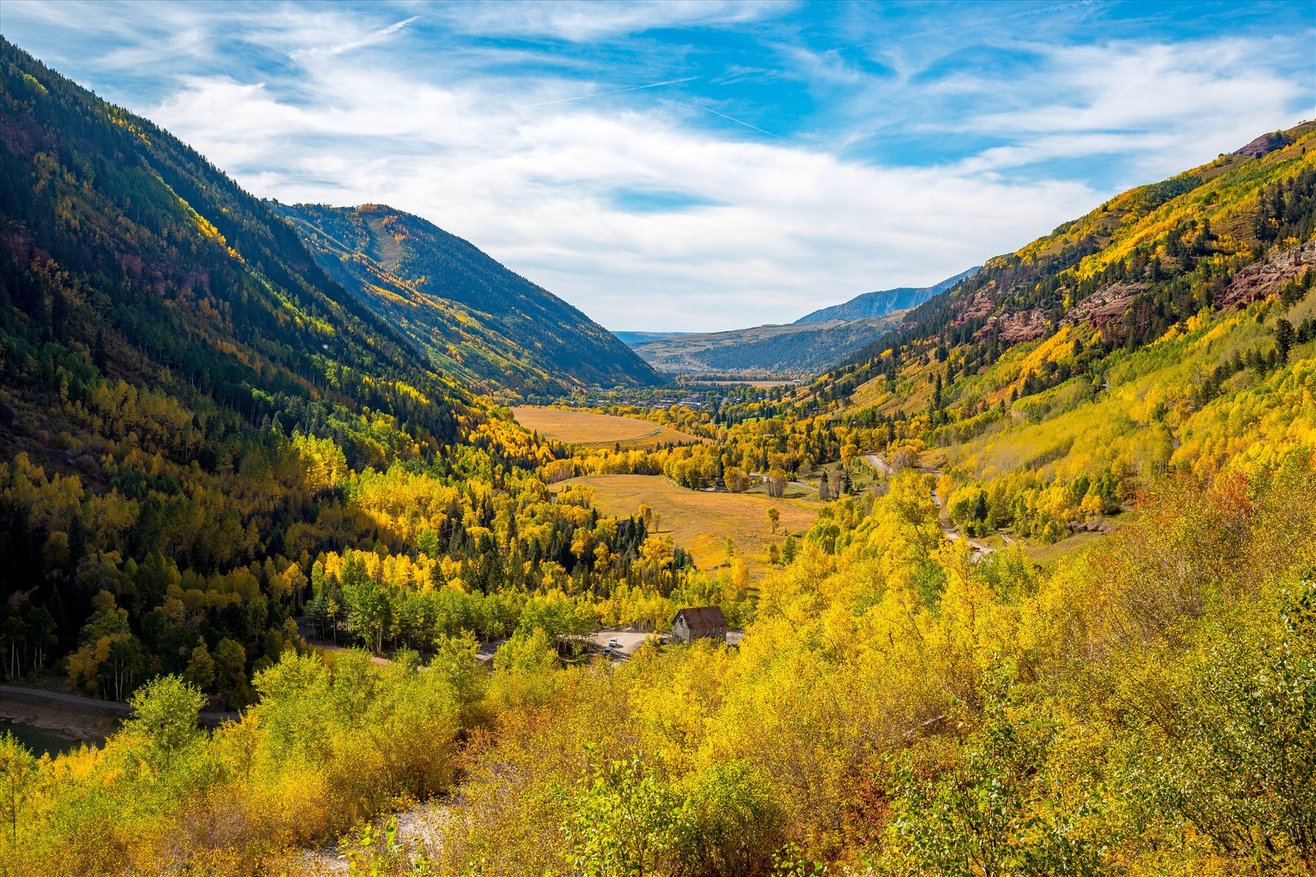 Ophir Pass 4 - Ophir Pass, between Ouray and Silverton Colorado in the fall. by D Scott Smith