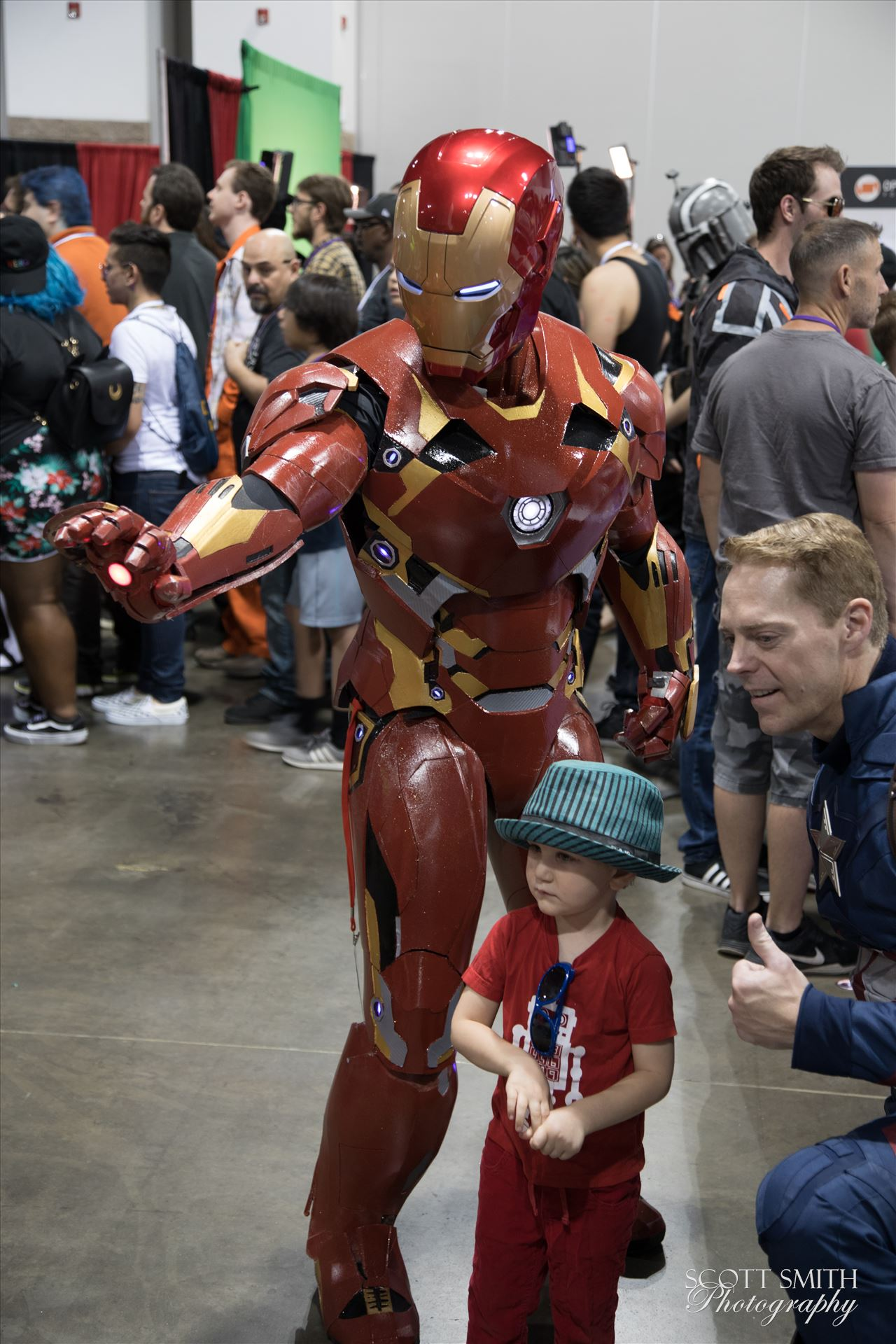 Iron Man 2 at Denver Comic Con 2018 -  by D Scott Smith
