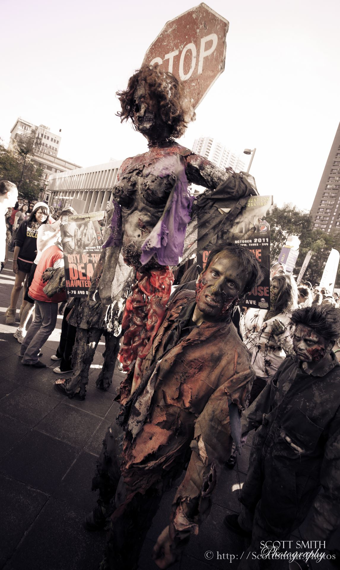 Denver Zombie Crawl 2015 1 -  by D Scott Smith